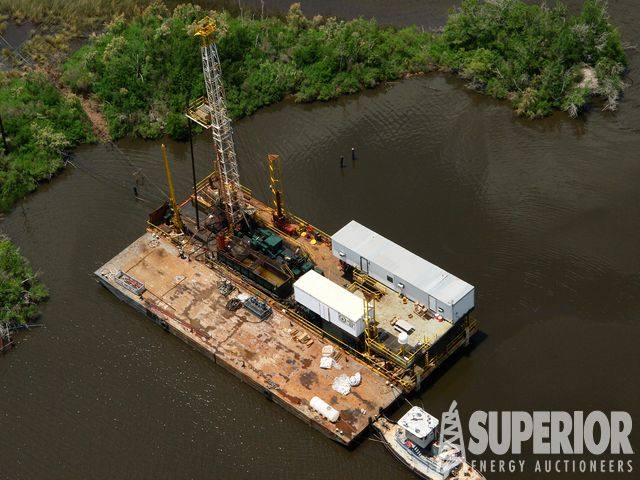 The Speck - WILSON 42 Well Service Barge Rig – YD6
