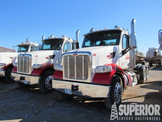 (2) 2018 PETE 567 Vac Truck Tractors – YD1