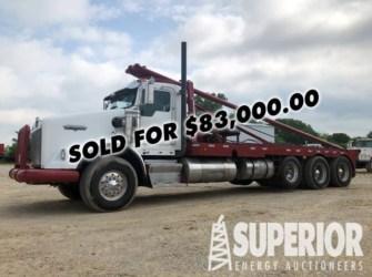 KENWORTH T-800 4-Axle Gin Truck w/ 300″WB