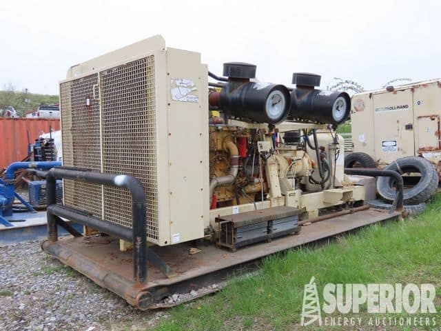 (1 of 2) I.RAND 1170/350 Air Compressors – YD4
