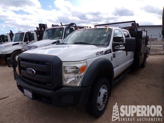 2012 FORD F-450 Flatbed Truck – YD7