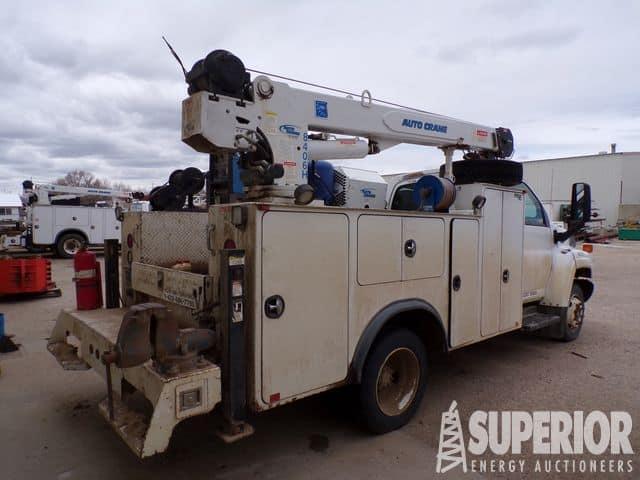 2007 CHEV C5500 Service Truck – YD8