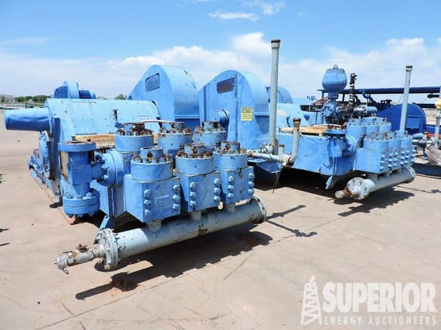 (2) NOV 10-P-130 Triplex Pumps – YD10