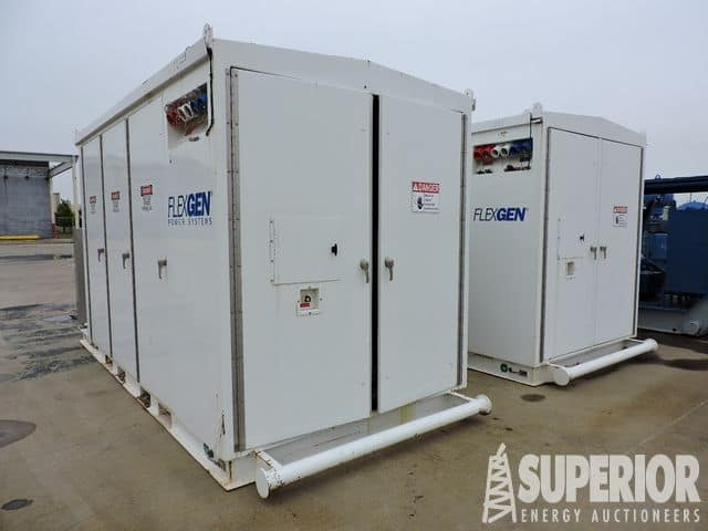 (2) FLEXGEN Power Storage Systems – YD10