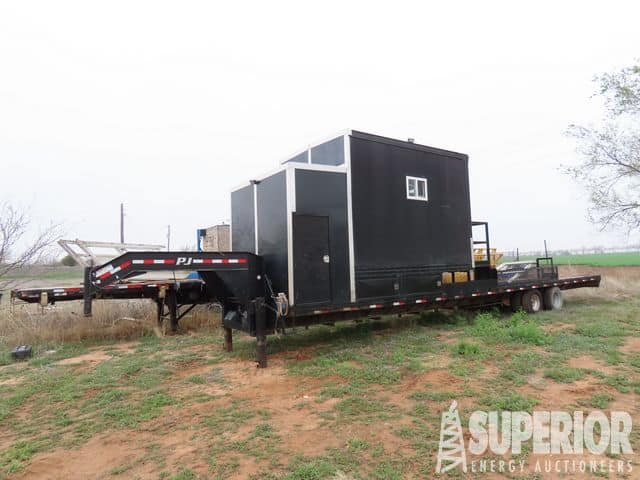 Trailer Mtd Crew House w/ Mud Boat – YD1