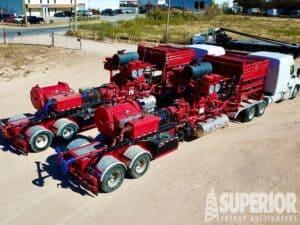 (2) NOV / SPM 2500HP Frac Pump Packages – YD1