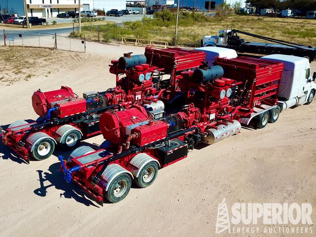(2) NOV / SPM 2500HP Frac Pump Packages – YD1