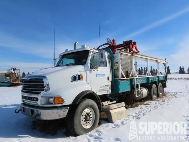 (1 of 3) '08 STERLING LT9500 T/A Pipe Trucks