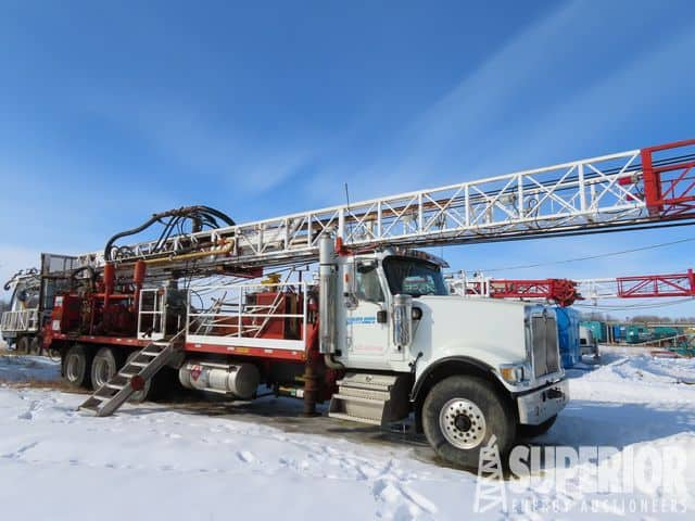 Rig #516 - I-RAND TH60 Water Well Rig