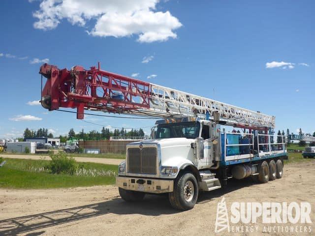 Rig #709 - GEFCO Speedstar 40K Water Well/Coring Rig – DY1 YD1