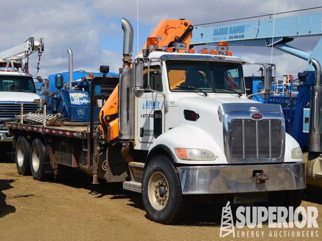 2008 PETE 340 T/A Knuckle Boom Truck – DY1 YD1