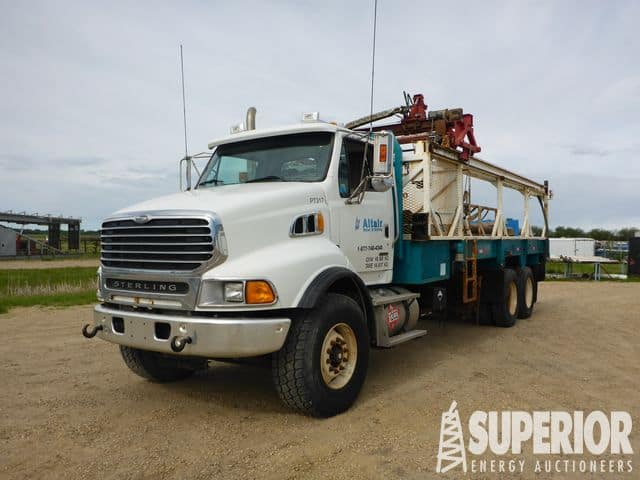 (1 of 5) 2008 STERLING LT9500 T/A Pipe Truck – DY1 YD1