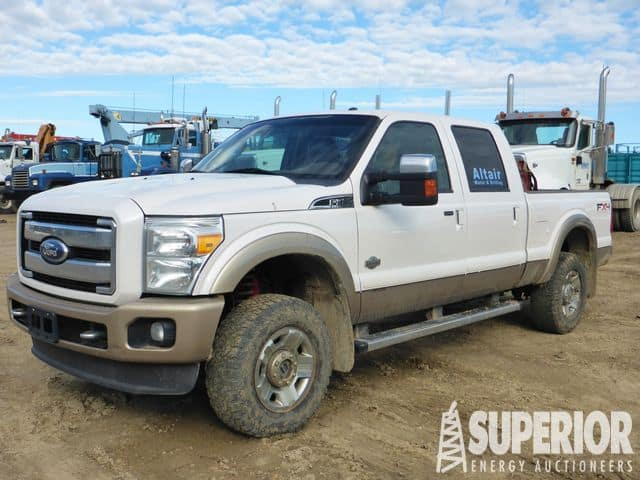 2011 FORD F-350 4WD King Ranch – DY1 YD1
