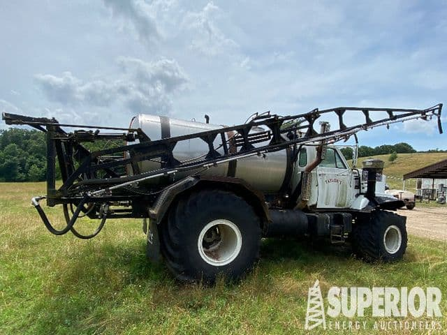 '84 BIG WHEELS 8002 Sprayer Truck – DY2 YD9