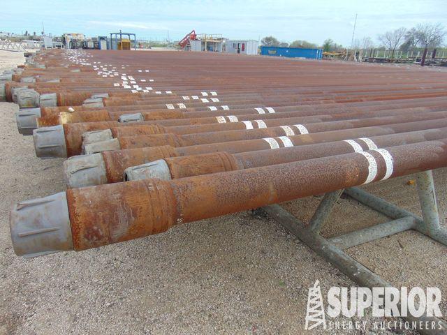 """10,106 5"""" G-105 DWB Drill Pipe – DY2 YD10"""