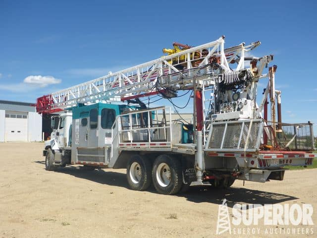 2005 WARRIOR HRS11160F Water Well/Coring Rig – DY1 YD1