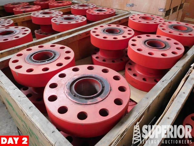 """(51) NEW 5-1/8"""" 15M x 5-1/8"""" 15M Spools – YD4"""