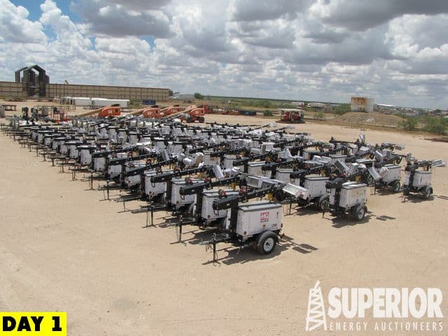 (46) 2017-2014 Portable Light Towers – YD1