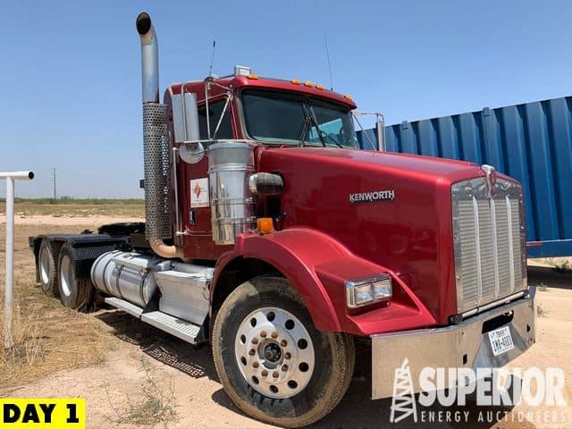 2008 KENWORTH T800 Winch Truck – YD1