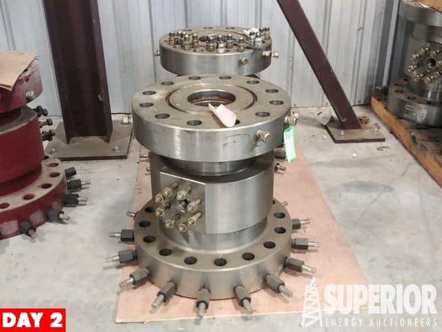 """(2) NEW 11"""" 5M x 11"""" 10M SS Casing Spools – YD6"""