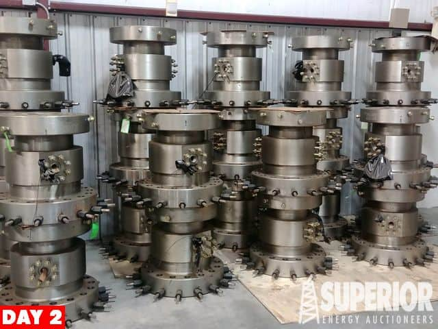 """(23) NEW 11"""" 5M x 11"""" 10M SS Casing Spools – YD6"""