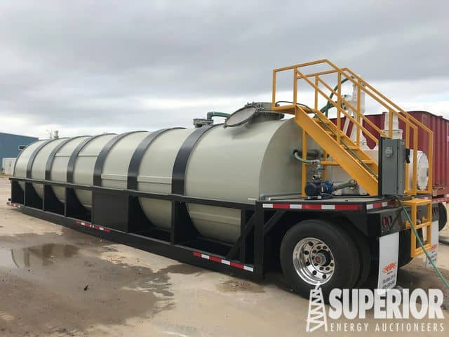 NEW 2018 HP 310-Bbl Poly Chem Tank – YD2