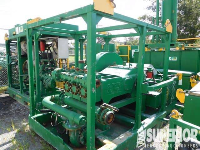 G.DENVER 600HP Triplex Pump – YD12