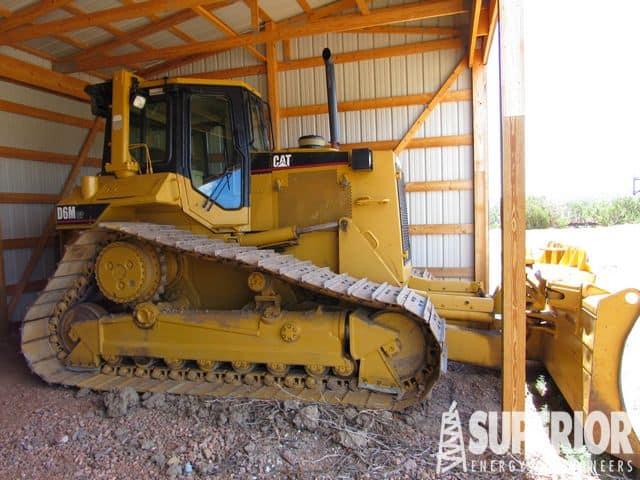 CAT D6M LGP Crawler Tractor w/ 9,100 Hrs – YD11