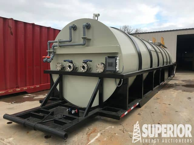 2019 HP MFG Poly Chem Tank Trailer – YD2