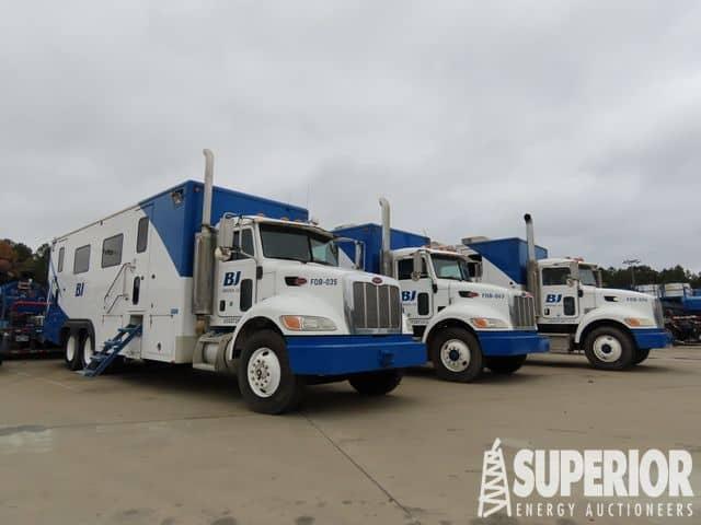 2009/2008 PETE Data Van Trucks – YD1