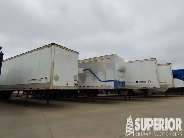 (6) TRAILMOBLE 53'L Parts Trailers – YD1