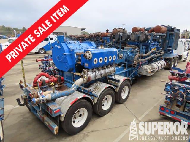 SPM 2700HP Quintuplex Frac Pump – YD1