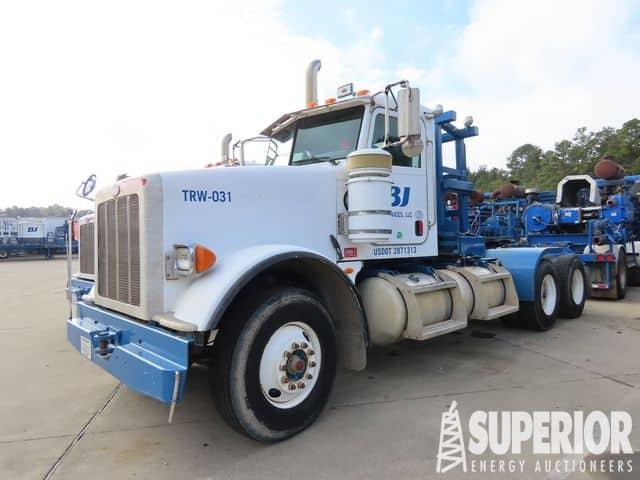 PETERBILT 367 Winch Truck – YD1