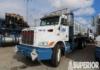 PETERBILT 355 Flat Bed Truck