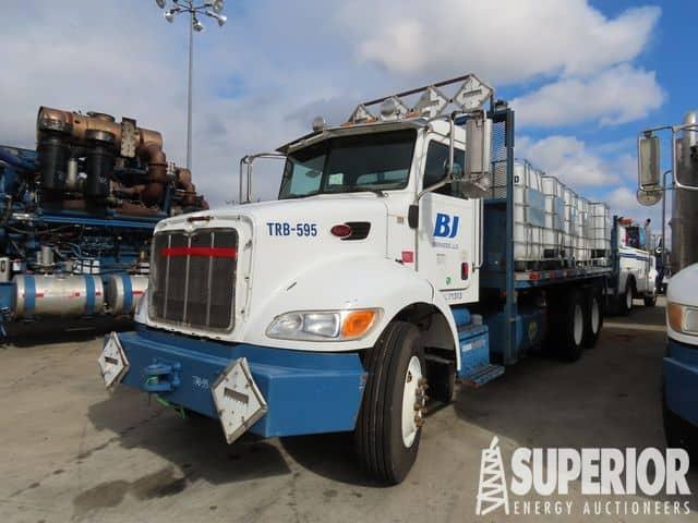 PETERBILT 355 Flat Bed Truck – YD1