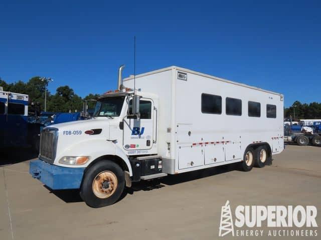 2012 PETE 348 Data Van Truck – YD1