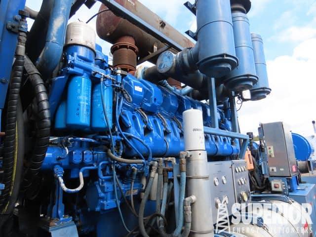 DETROIT MTU16V-4000 Frac Power – YD1