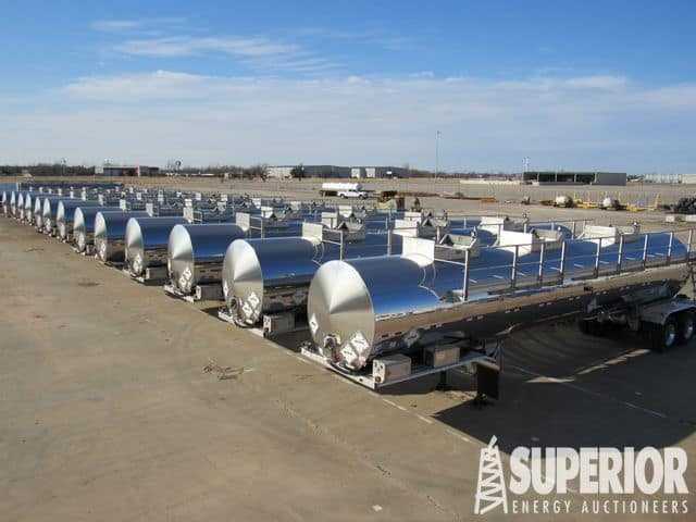 NEW HEIL DOT-407 8,000-Gal Tank Trailers – YD2