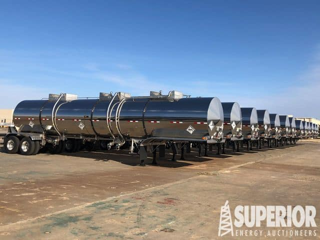 (13) NEW HEIL 8000-Gal DOT-407 Trailers – YD2