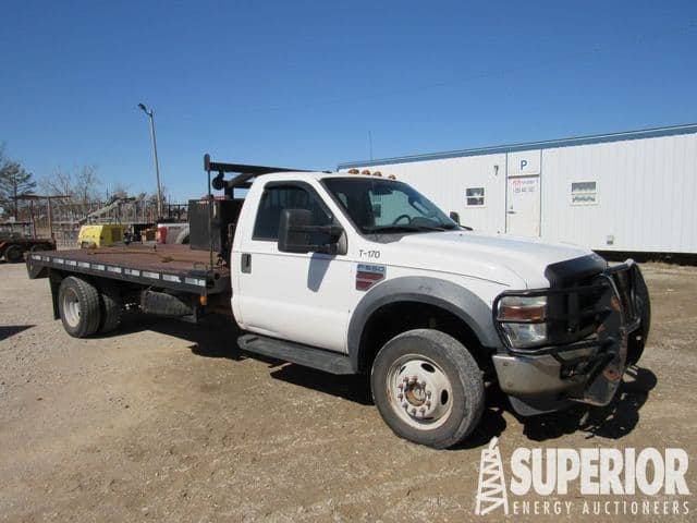 2008 FORD F-550 Roustabout Truck – YD1