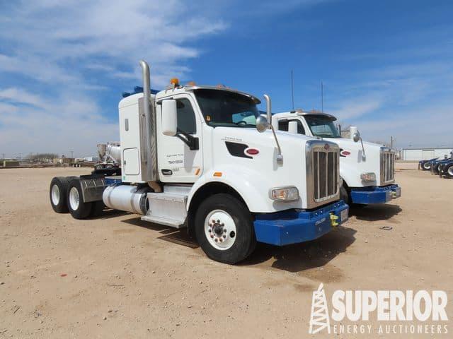 2016 PETE 567 Sleeper Blower Trucks – YD1