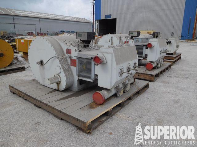 (3) UNUSED GARDNER DENVER HD2250 Triplex Pumps – YD1