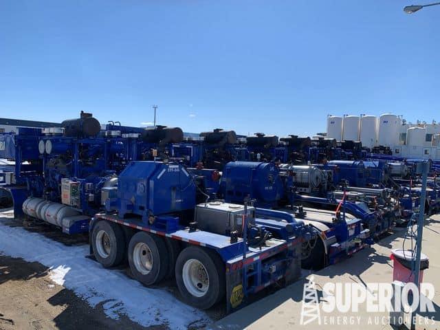 (13) 2250 -2500HP Frac Pumps – YD1