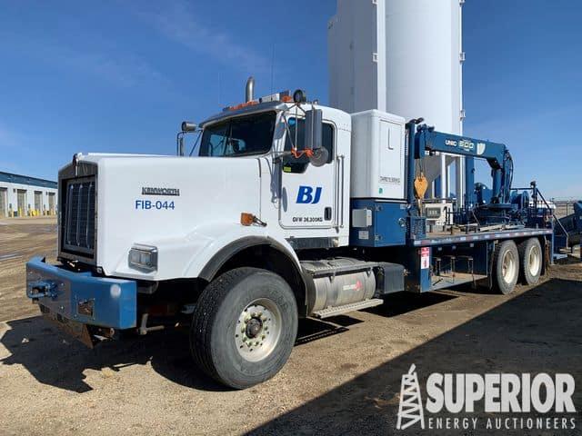 KENWORTH C-500 Line Truck w/ UNIC Crane – YD1