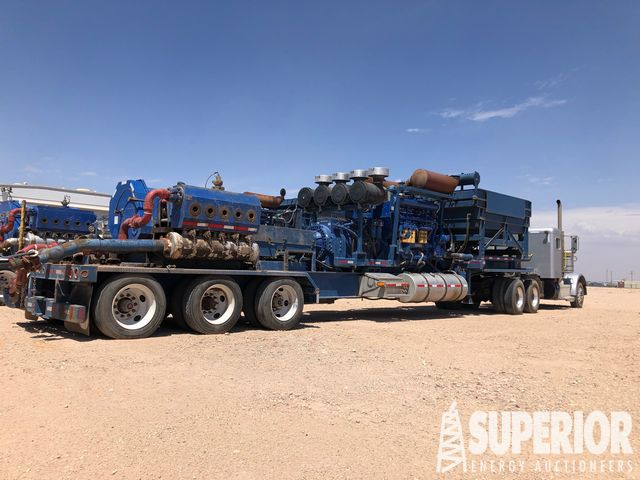 (2) 2500HP Quintuplex CAT/CAT Frac Pumps w/ Tractors – YD9