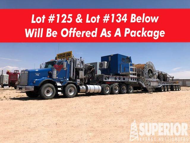2018 PREMIER COIL CTW-11-10 CTU & 2018 KW T-800 Wet Kit Truck – YD9