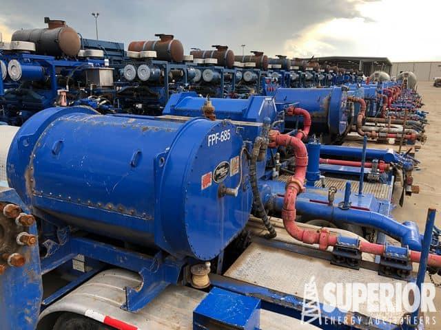 (75) 2500-2250HP Frac Pumps ‒ YD1