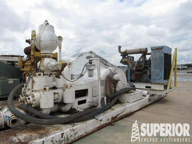 (1 of 2) TSM 500 Duplex Pumps p/b DETROIT Series 60 – YD1