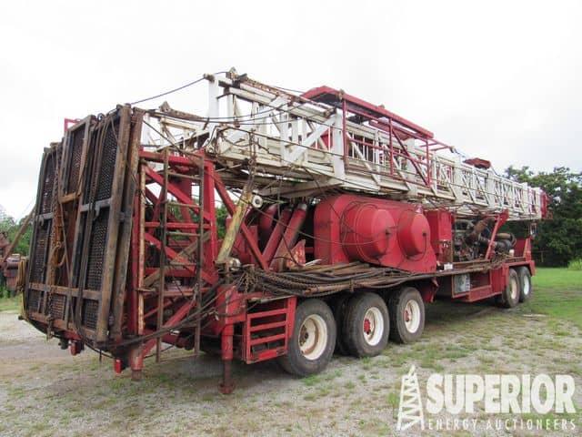 2007 FALCON SR-550 Well Service Rig – YD4