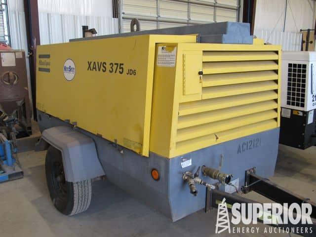 2012 ATLAS COPCO XAVS375 Air Compressor – YD2